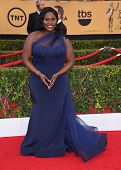 LOS ANGELES - JAN 25:  Danielle Brooks arrives to the 21st Annual Screen Actors Guild Awards  on January 25, 2015 in Los Angeles, CA