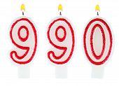 Candles Number Nine Hundred Ninety