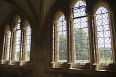 Windows In Medieval Cloister poster