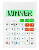 Calculator With Winner