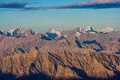 Sunrise From Stok Kangri - Magnificient View To Himalayas