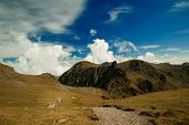 The Way To Negoiu Peak, Carpathians Mountains, Romania