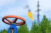 Oil field.