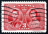 Postage Stamp Canada 1937 King George Vi And Queen Elizabeth