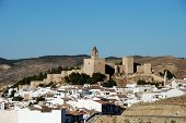 Town and castle, Antequera.