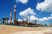 Petrochemical refinery, Puente Mayorga.