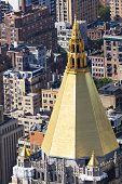 Golden Roof In Manhattan