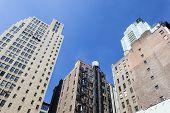 Old Manhattan Skyscrapers