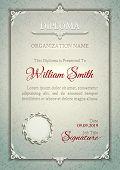 Silver classic premium plaque