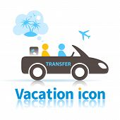 Travel Transfer Icon