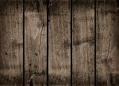 Old Dark Wood Background Texture