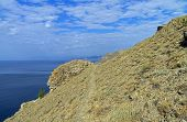 The Path Over The Cliff, Crimea.