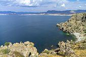 Small Cove In The Coastal Cliffs. Crimea.