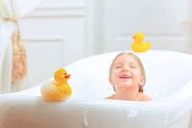 image of douche  - Bath time is fun - JPG