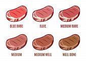 picture of  media  - Degrees of Steak Doneness - JPG