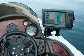 eletrônica de barco