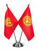 Постер, плакат: Kyrgyzstan Miniature Flags