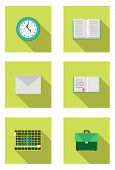 stock photo of time study  - School bag - JPG