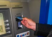 Using Cash Machine