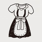 pic of maids  - Maid Clothes Doodle - JPG