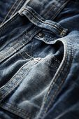 foto of denim jeans  - Blue jeans pants close up - JPG