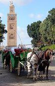 Marrakech - Horsedrawn Carriage