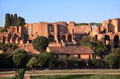 Ruins of Thermes de Caracala in Rome, Italy to this day they do great impression