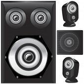 speaker details vector