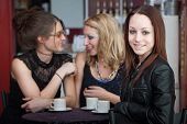 Friends In Coffee House