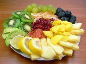 Постер, плакат: Вкусные фрукты