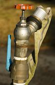 Water Hose With Valves
