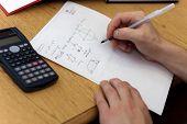 Lição de casa de matemática