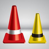 3D Traffic Pylon