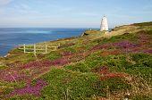 A White Daymark, The Pepper Pot, Portreath, Cornwall.