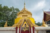Wat Phra That Chom Wae one of the 9 important pagodas of Chiang rai province, Thailand.