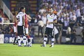 VALENCIA, SPAIN - SEPTEMBER 29: UEFA Champions League, Valencia C.F. vs Manchester United, Mestalla