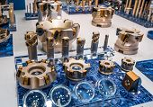 Milling cutters are cutting tools typically used in milling machines or machining centres to perform poster
