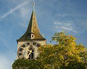 Zurich Switzerland Clock