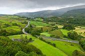 Beautiful Landscape In Snowdonia, Wales