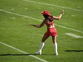 Cheerleader Dancing