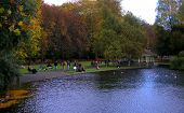 A Walk In St. Stephen'S Green Park