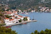 Agia Kyriaki traditional Greek fishing village