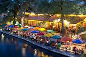 SAN ANTONIO, TX - AUG 13: The San Antonio River Walk in San Antonio, Texas on August 13, 2011. The W
