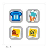 Communication: Icon Set 04 - Version 2