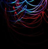 Chaotic Colorful Lights