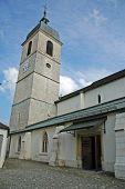 Church In Porrentruy Switzerland