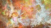 Nebula In Space. Elements Of This Image Furnished By Nasa. poster