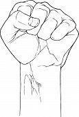 Fist Bw