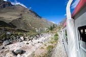 Peru Rail from Cuzco to Machu Picchu (Peru) poster