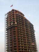 edifício em construção